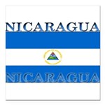 Nicaragua.jpg Square Car Magnet 3