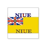Niue.jpg Square Sticker 3
