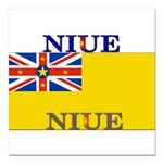 Niue.jpg Square Car Magnet 3