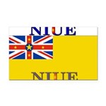 Niue.jpg Rectangle Car Magnet