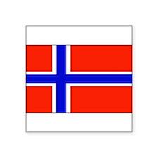 "Norwayblank.jpg Square Sticker 3"" x 3"""