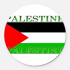 Palestine.jpg Round Car Magnet