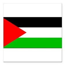 "Palestineblank.jpg Square Car Magnet 3"" x 3"""
