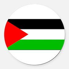 Palestineblank.jpg Round Car Magnet
