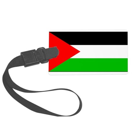 Palestineblank.jpg Large Luggage Tag
