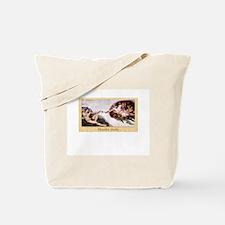 Creation of Knitting Tote Bag