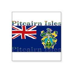 PitcairnIsles.jpg Square Sticker 3