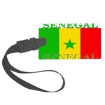 Senegal.png Large Luggage Tag