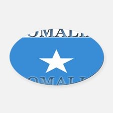Somalia.jpg Oval Car Magnet