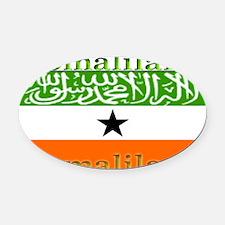Somaliland.jpg Oval Car Magnet