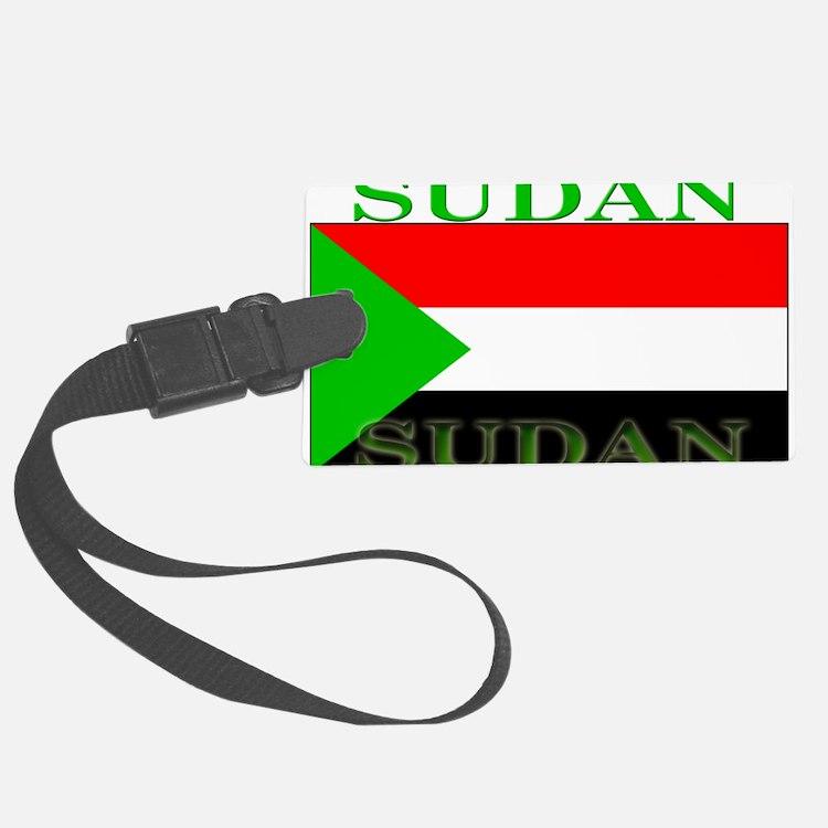 Sudan.png Luggage Tag