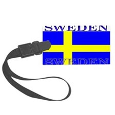 Swedenblack.png Luggage Tag