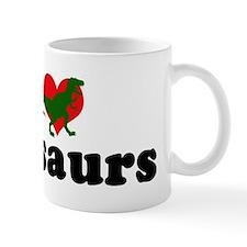 I Love Dinosaurs Mug
