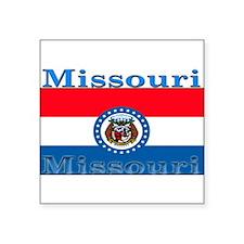 "Missouri.png Square Sticker 3"" x 3"""