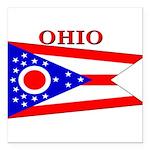 Ohio.png Square Car Magnet 3