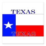 Texas.jpg Square Car Magnet 3