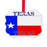 Texas.jpg Picture Ornament