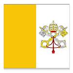 Vaticanblank.jpg Square Car Magnet 3