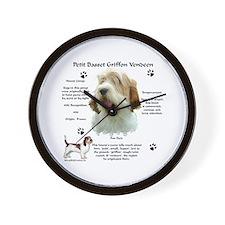 PBGV 1 Wall Clock