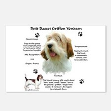 PBGV 1 Postcards (Package of 8)