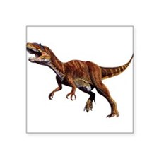 "Allosaurus.png Square Sticker 3"" x 3"""