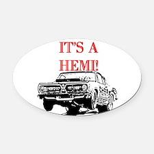 AFTMItsAHemi!.jpg Oval Car Magnet
