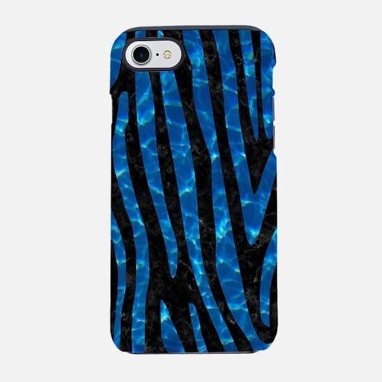 SKIN4 BLACK MARBLE & DEEP BLUE iPhone 7 Tough Case