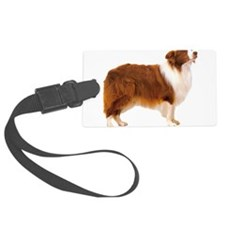 BorderCollieGold.png Luggage Tag