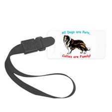 collie.png Luggage Tag