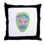 Texas Death Row Throw Pillow