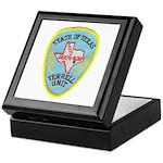 Texas Death Row Keepsake Box