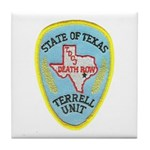 Texas Death Row Tile Coaster