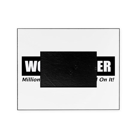 Workharderwhite.png Picture Frame