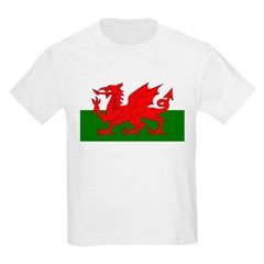 Fly the Welsh Dragon Kids T-Shirt