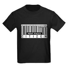 Post Falls Citizen Barcode, T