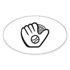 Baseball Glove Decal