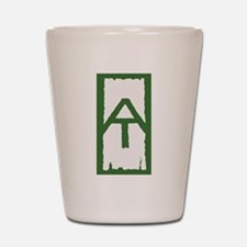 Appalachian Trail White Blaze Shot Glass