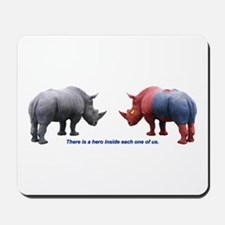 Hero Rhino Mousepad