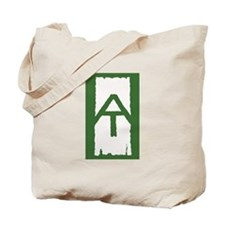 Appalachian Trail White Blaze Tote Bag