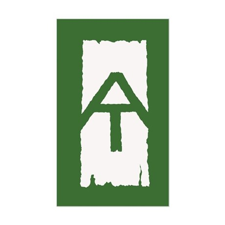 Appalachian Trail White Blaze Sticker (Rectangle)