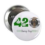 """4PACK ENT. 420 Hemp Hop 2.25"""" Button (10 pack"""