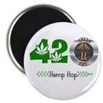 4PACK ENT 420 Hemp Hop Magnet