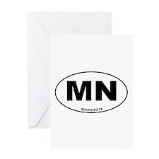 Minnesota State Greeting Card