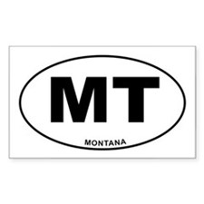 Montana State Decal