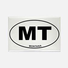 Montana State Rectangle Magnet