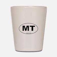 Montana State Shot Glass