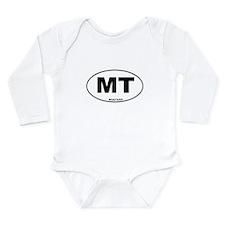 Montana State Long Sleeve Infant Bodysuit