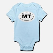 Montana State Infant Bodysuit