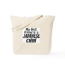 Japanese Chin FRIEND Tote Bag