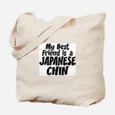 Japanese Chin FRIEND Tote Bag